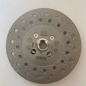 115MM X M14 Vacuum Brazed Diamond multipurpose grinding wheels